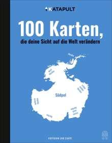 100 Karten, die deine Sicht auf die Welt verändern, Buch