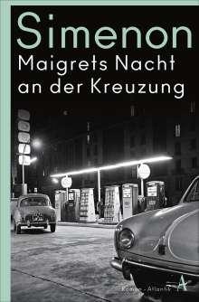 Georges Simenon: Maigrets Nacht an der Kreuzung, Buch