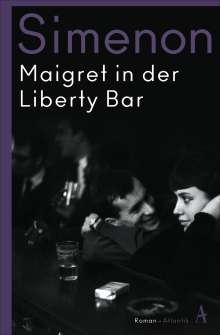 Georges Simenon: Maigret in der Liberty Bar, Buch