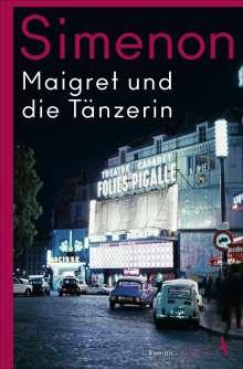 Georges Simenon: Maigret und die Tänzerin, Buch