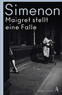 Georges Simenon: Maigret stellt eine Falle, Buch