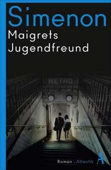Georges Simenon: Maigrets Jugendfreund, Buch