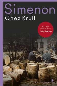 Georges Simenon: Chez Krull, Buch