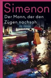 Georges Simenon: Der Mann, der den Zügen nachsah, Buch