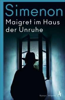 Georges Simenon: Maigret im Haus der Unruhe, Buch