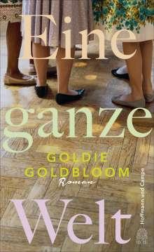Goldie Goldbloom: Eine ganze Welt, Buch