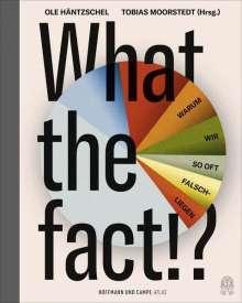 Ole Häntzschel: What the fact!, Buch