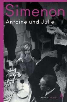 Georges Simenon: Antoine und Julie, Buch