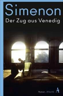 Georges Simenon: Der Zug aus Venedig, Buch