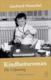 Gerhard Henschel: Kindheitsroman, Buch
