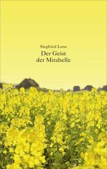 Siegfried Lenz: Der Geist der Mirabelle, Buch