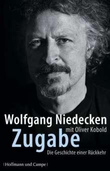 Wolfgang Niedecken: Zugabe, Buch