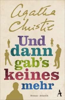 Agatha Christie: Und dann gab's keines mehr, Buch