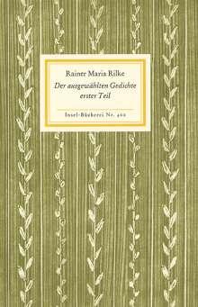 Rainer Maria Rilke: Der ausgewählten Gedichte erster Teil, Buch