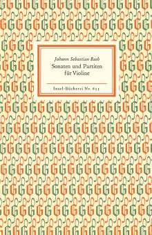 Johann Sebastian Bach (1685-1750): Sonaten und Partiten für Violine allein, Buch