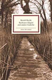 Bertolt Brecht: Buckower Elegien und andere Gedichte, Buch