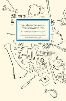 Hans Magnus Enzensberger: Verschwunden!, Buch