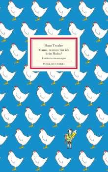 Hans Traxler: Mama, warum bin ich kein Huhn?, Buch