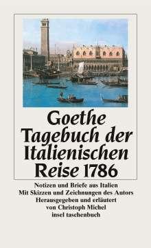 Johann Wolfgang von Goethe: Tagebuch der Italienischen Reise 1786, Buch