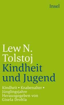 Leo N. Tolstoi: Kindheit, Knabenalter, Jünglingsjahre, Buch
