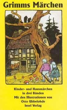 Jacob Grimm: Kinder- und Hausmärchen, gesammelt durch die Brüder Grimm. In drei Bänden, Buch