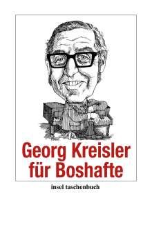 Georg Kreisler: Georg Kreisler für Boshafte, Buch