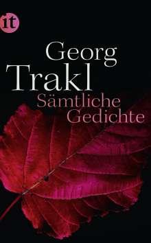 Georg Trakl: Sämtliche Gedichte, Buch