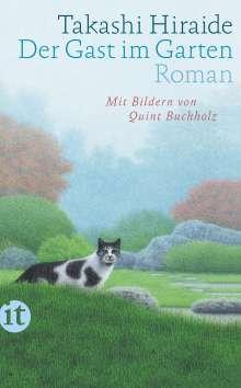 Takashi Hiraide: Der Gast im Garten, Buch