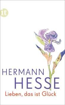 Hermann Hesse: Lieben, das ist Glück, Buch