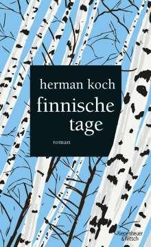 Herman Koch: Finnische Tage, Buch