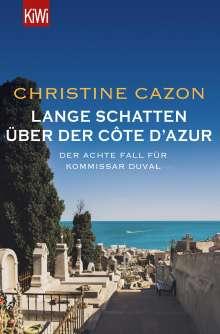 Christine Cazon: Lange Schatten über der Côte d'Azur, Buch