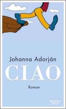 Johanna Adorján: Ciao, Buch