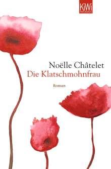 Noelle Chatelet: Die Klatschmohnfrau, Buch