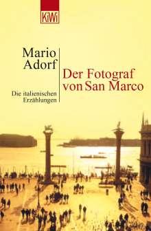 Mario Adorf: Der Fotograf von San Marco, Buch