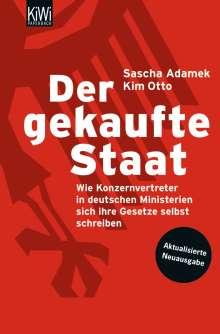 Sascha Adamek: Der gekaufte Staat, Buch