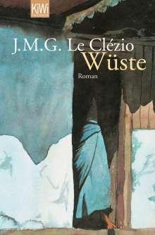 Jean-Marie Gustave Le Clézio: Wüste, Buch