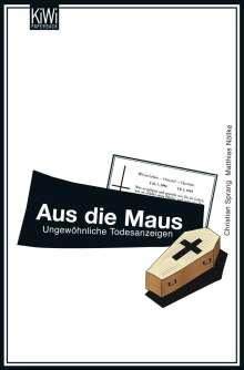 Matthias Nölke: Aus die Maus, Buch