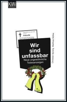 Matthias Nöllke: Wir sind unfassbar, Buch
