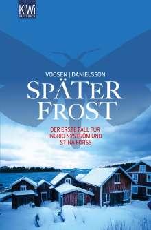Roman Voosen: Später Frost, Buch