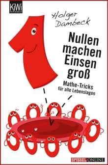 Holger Dambeck: Nullen machen Einsen groß, Buch