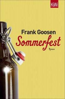 Frank Goosen: Sommerfest, Buch
