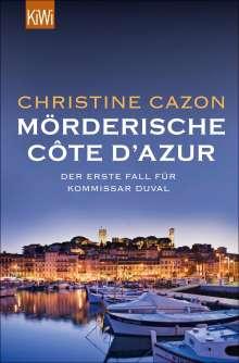 Christine Cazon: Mörderische Côte d'Azur, Buch