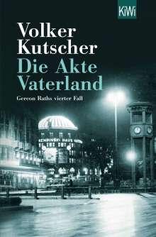 Volker Kutscher: Die Akte Vaterland, Buch