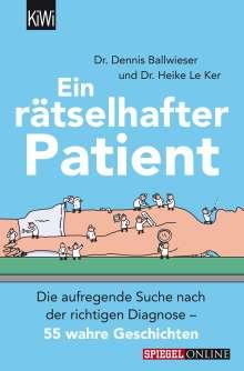 Heike Le Ker: Ein rätselhafter Patient, Buch
