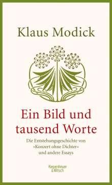 Klaus Modick: Ein Bild und tausend Worte, Buch