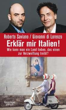 Roberto Saviano: Erklär mir Italien!, Buch