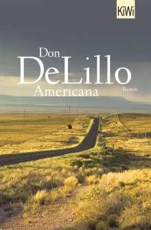 Don DeLillo: Americana, Buch