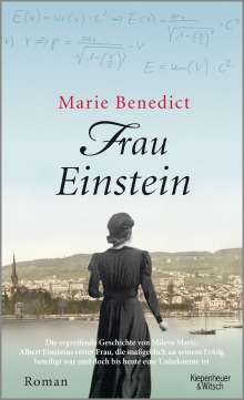 Marie Benedict: Frau Einstein, Buch