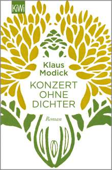 Klaus Modick: Konzert ohne Dichter, Buch