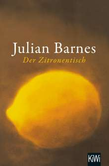 Julian Barnes: Der Zitronentisch, Buch
